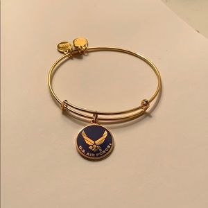 Alex and Ani US Air Force Bangle
